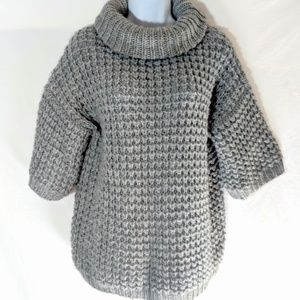 Anthro Plenty Tracy Reese Chunky Cowl Neck Sweater